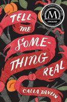 Cover image for Tell me some-thing real