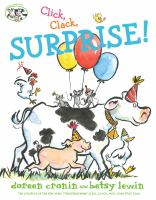 Cover image for Click, clack, surprise!