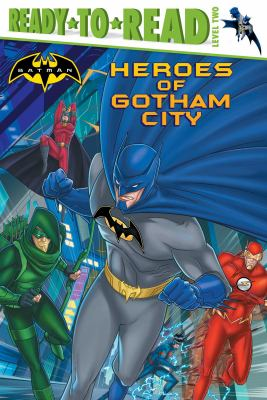 Cover image for Heroes of Gotham City