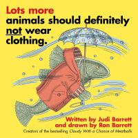 Cover image for Lots more animals should definitely not wear clothing