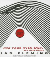 Cover image for For your eyes only : and other stories :