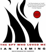 Cover image for The spy who loved me