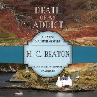Cover image for Death of an addict