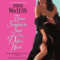 Cover image for Eleven scandals to start to win a duke's heart