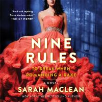Cover image for Nine rules to break when romancing a rake
