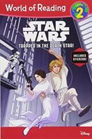 Cover image for Star Wars : trapped in the Death Star!