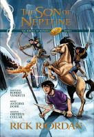 Cover image for The son of Neptune : the graphic novel