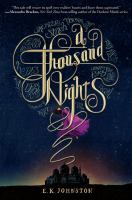 Cover image for A thousand nights