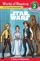 Cover image for Star Wars : 3 tales of adventure.