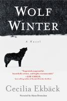 Cover image for Wolf winter : a novel