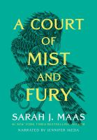 Cover image for A court of mist and fury