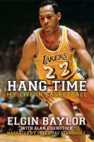 Cover image for Hang time my life in basketball
