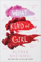 Cover image for What kind of girl
