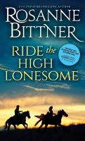 Cover image for Ride the high lonesome