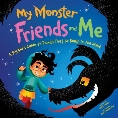 Cover image for My monster friends and me : a big kid's guide to things that go bump in the night