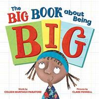 Cover image for The big book about being big