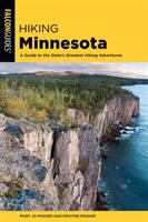 Cover image for Hiking Minnesota : a guide to the state's greatest hiking adventures