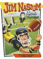 Cover image for Jim Nasium is a football fumbler