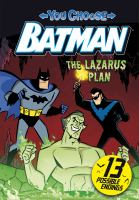 Cover image for The Lazarus plan