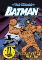 Cover image for Clayface returns