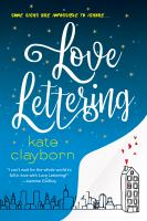 Cover image for Love lettering
