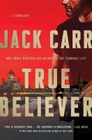 Cover image for True believer : a thriller