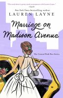 Cover image for Marriage on Madison Avenue