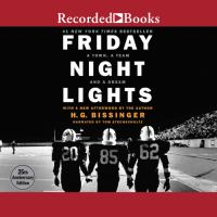 Cover image for Friday night lights : a town, a team, and a dream
