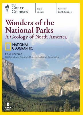 Cover image for Wonders of the national parks : a geology of North America