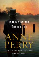 Cover image for Murder on the Serpentine