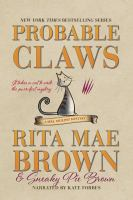 Cover image for Probable claws