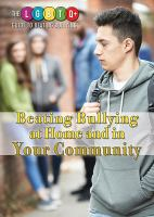 Cover image for Beating bullying at home and in your community