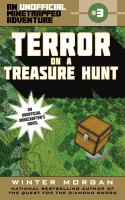 Cover image for Terror on a treasure hunt : an unofficial minetrapped adventure, #3