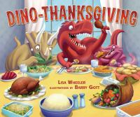 Cover image for Dino-Thanksgiving