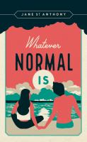 Cover image for Whatever normal is