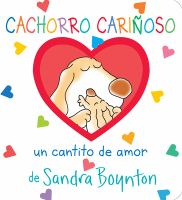 Cover image for Cachorro cariñoso : un cantito de amor