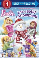 Cover image for Let's build a snowman!
