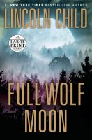 Cover image for Full wolf moon : a novel