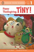 Cover image for Happy Thanksgiving, Tiny!