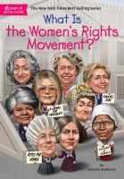 Cover image for What is the women's rights movement?