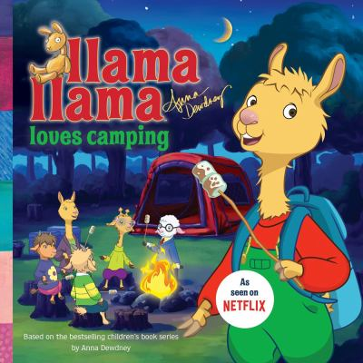 Cover image for Llama Llama loves camping