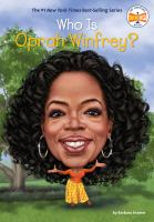 Cover image for Who is Oprah Winfrey?