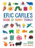 Cover image for Eric Carle's book of many things.