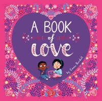 Cover image for A book of love