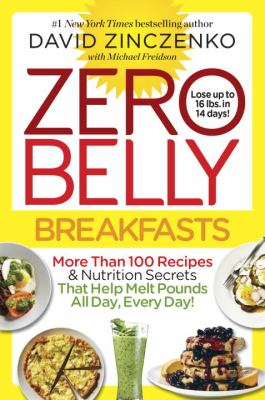 Cover image for Zero belly breakfasts