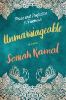 Cover image for Unmarriageable : a novel