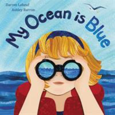 Cover image for My ocean is blue