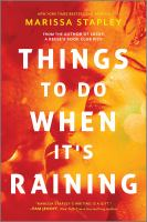 Cover image for Things to do when it's raining