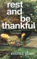 Cover image for Rest and be thankful