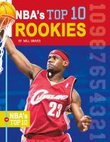 Cover image for NBA's top 10 rookies